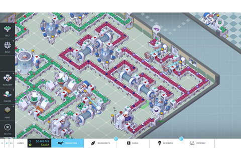Big Pharma Review: a puzzle and business simulator ...