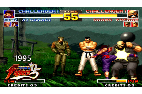 Fighting Games Combo Video 1991 - 2001 (HD) - YouTube