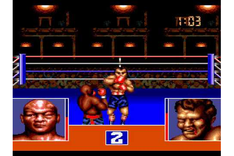 George Foreman's KO Boxing (Sega Genesis) - Fight 1 - YouTube