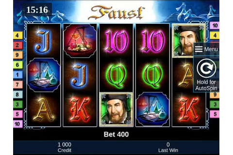 Faust Slot Machine Online - Play Free Demo Version