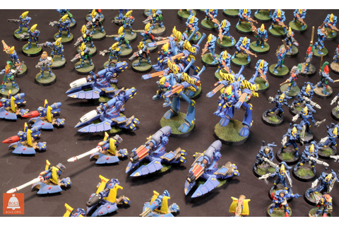 40K SHOWCASE: Alaitoc Eldar by Bigred - Bell of Lost Souls