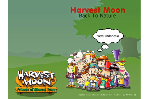 RD1217.BLOGSPOT.COM: WALKTHROUGH HARVEST MOON BACK TO ...