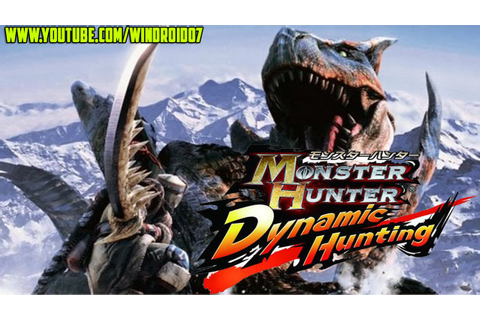 Monster Hunter: Dynamic Hunting Para Android [Grandioso ...