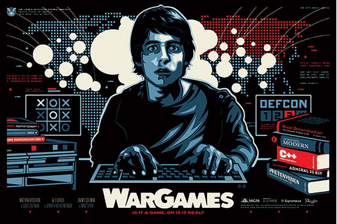 Movie Posters for the Classic 1983 Film, WarGames - MightyMega