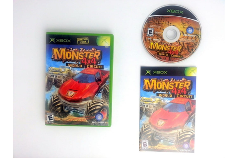 Monster 4X4 World Circuit game for Xbox (Complete) | The ...