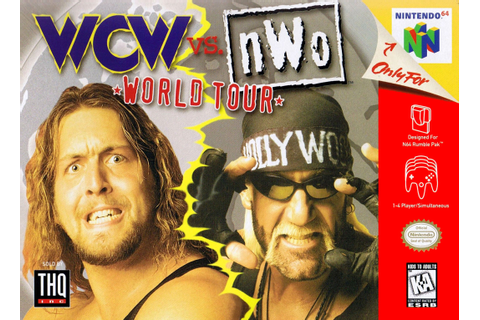 WCW vs. nWo World Tour Nintendo 64 Game