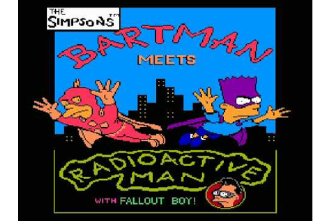 Let's NOT Play The Simpsons - Bartman Meets Radioactive ...