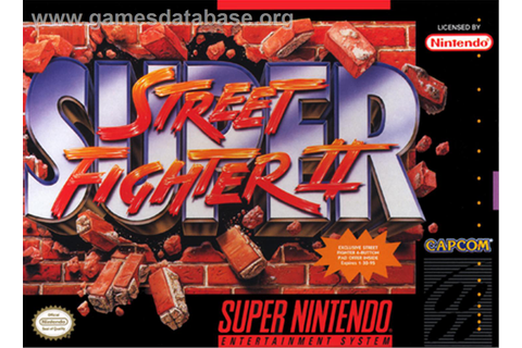 Super Street Fighter II: The New Challengers - Nintendo ...