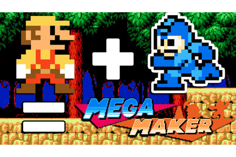 Mega Maker Intro & Tutorial - Make Your Own Mega Man ...
