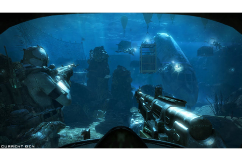 MOST BEAUTIFUL UNDERWATER COMBAT IN GAMES ! Call of Duty ...