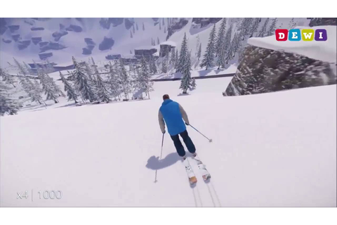 SNOW the PC and PS4 Ski and Snowboard Game Review - YouTube