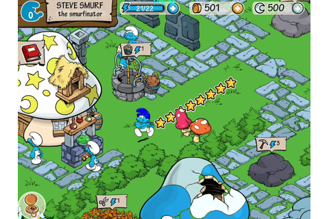 Image Gallery Smurf Games
