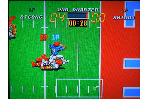 Neo Geo – Football Frenzy | Obscure Video Games