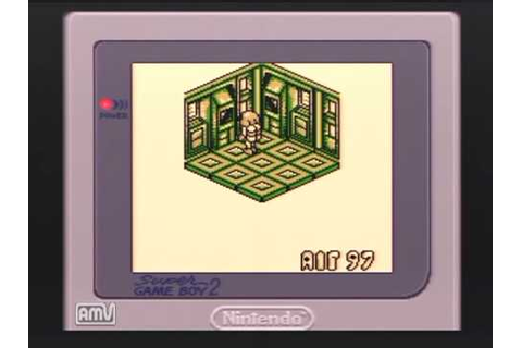 Altered Space : A 3-D Alien Adventure (GAMEBOY) / Gameplay ...