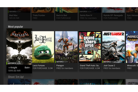 Nvidia's GeForce Now Game Streaming Service Available in ...