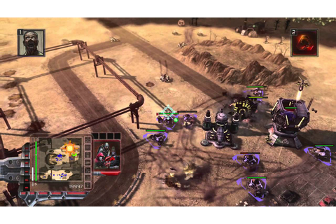 Command and Conquer 3: Tiberium Wars (Xbox 360) - Hard AI ...