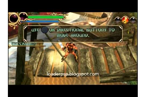 Hero of Sparta iso PSP - YouTube