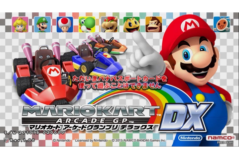 Mario Kart Arcade GP DX - Gameplay - YouTube