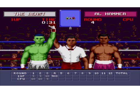"Evander Holyfield's ""Real Deal"" Boxing CHEAT - Sega ..."