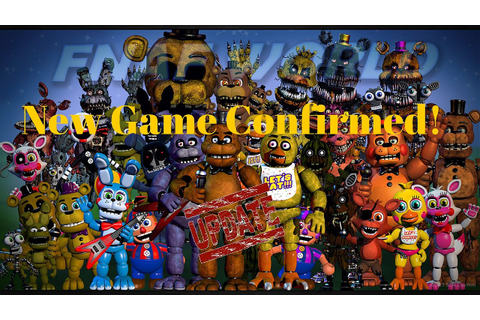Scott Games Update! - FNAF World Confirmed! - YouTube