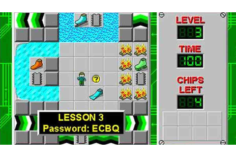 Classic video game Chip's Challenge is now available on ...