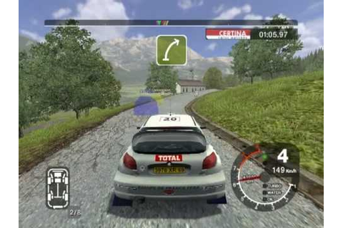 Colin McRae Rally 2005 - GER5, P206 (online16) - YouTube
