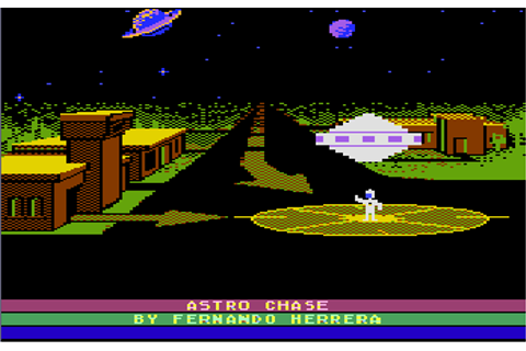 Astro Chase (1982) (Parker Bros First Star Software) ROM
