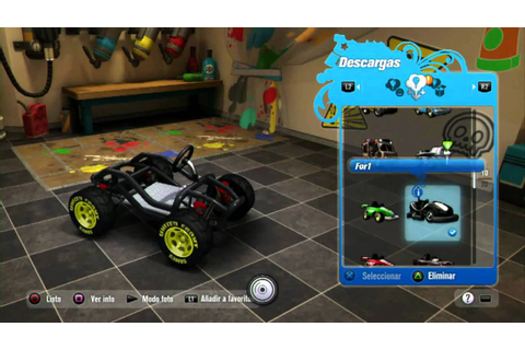 Modnation Racers - Mods + Gameplay (Multiplayer) - YouTube