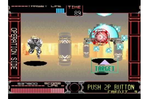 Gun Buster (Taito Arcade) - Shooting Playthrough (1/3 ...