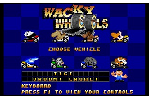 Wacky Wheels (DOS) Game Download