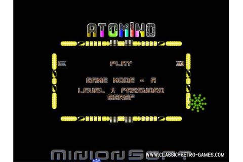 Download Atomino & Play Free | Classic Retro Games