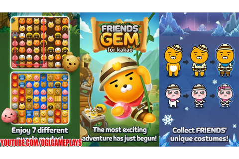 Friends Gem for kakao Android iOS Gameplay (By Kakao Games ...