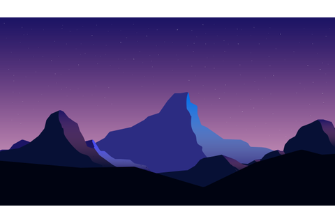 Mountain background for my 2D Unity game. | Final Work ...