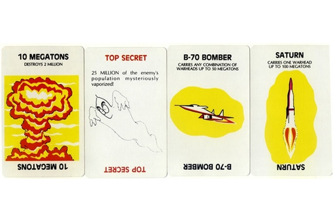 'Nuclear War' Card Game, 1965