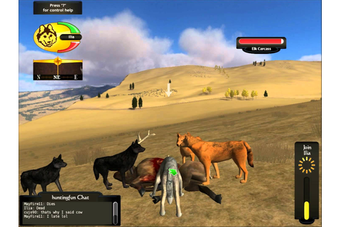Wolfquest – A free game where you play as a wolf ...