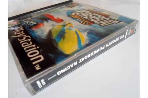 VR Sports Powerboat Racing for Playstation 1 PS1 - Passion ...
