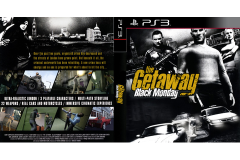 GAMES & GAMERS: THE GETAWAY BLACK MONDAY PS3/PS2 DOWNLOAD