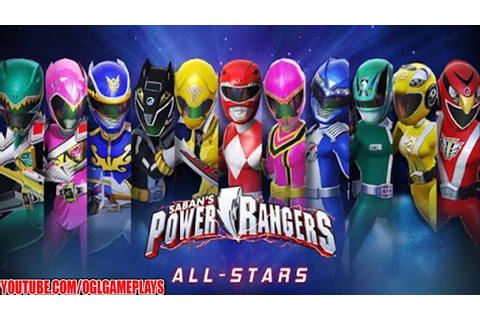 Power Rangers : All Stars Android iOS Gameplay #1 (By ...