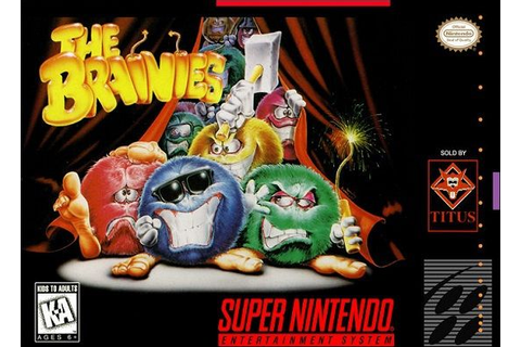 The Brainies for Super Nintendo | Super nintendo, Nintendo ...