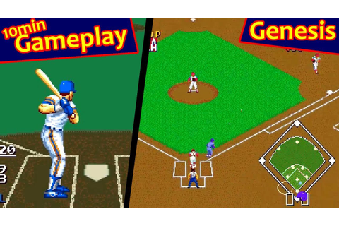 Sports Talk Baseball ... (Sega Genesis) - YouTube