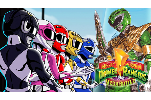 Mighty Morphin POWER RANGERS Mega Battle Online CO-OP PS4 ...