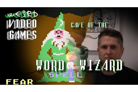 Weird Video Games - Cave of the Word Wizard (Commodore 64 ...