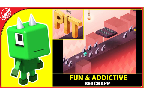 The Pit : New Fun Challenge Game by Ketchapp (ios Gameplay ...