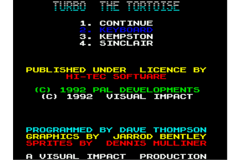 Download Turbo the Tortoise - My Abandonware