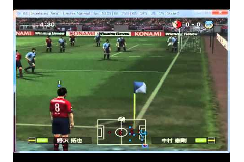 J.League Winning Eleven 2010 Club Championship on PCSX2 0 ...