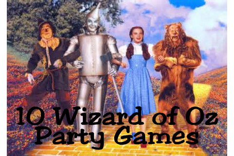 10 Wizard of Oz Game Ideas | Everyday Parties