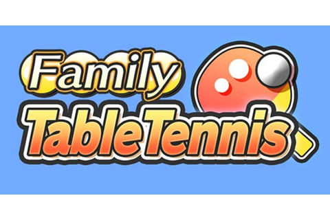 Family Table Tennis Review - WiiWare | Nintendo Life