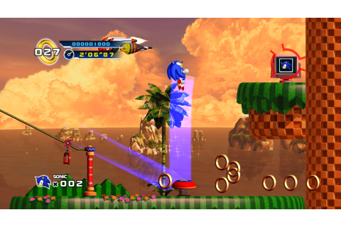 New Sonic 4: Episode 1 Screens | Game Rant