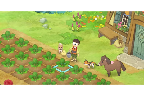 Adorable Clip For Story Of Seasons Crossover Game Doraemon ...