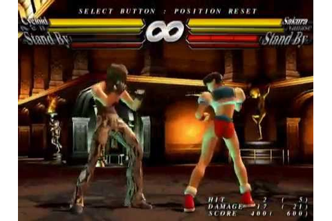 Street Fighter EX3 [PS2] - play as 3rd Credits character ...